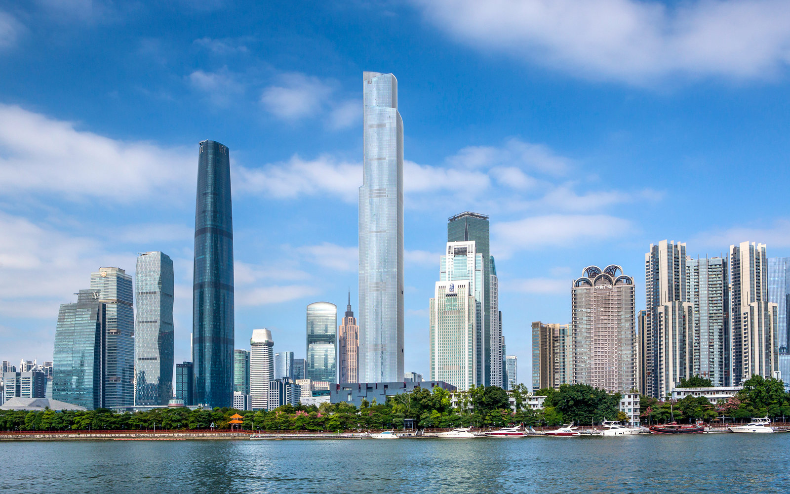 Wuyan New Town IFC Building and East Tower