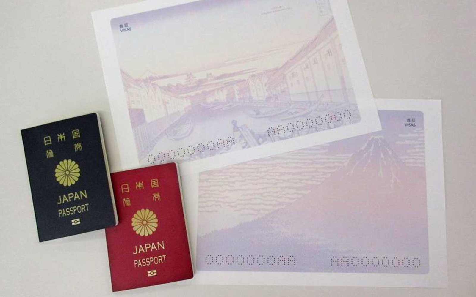 japan's new passport