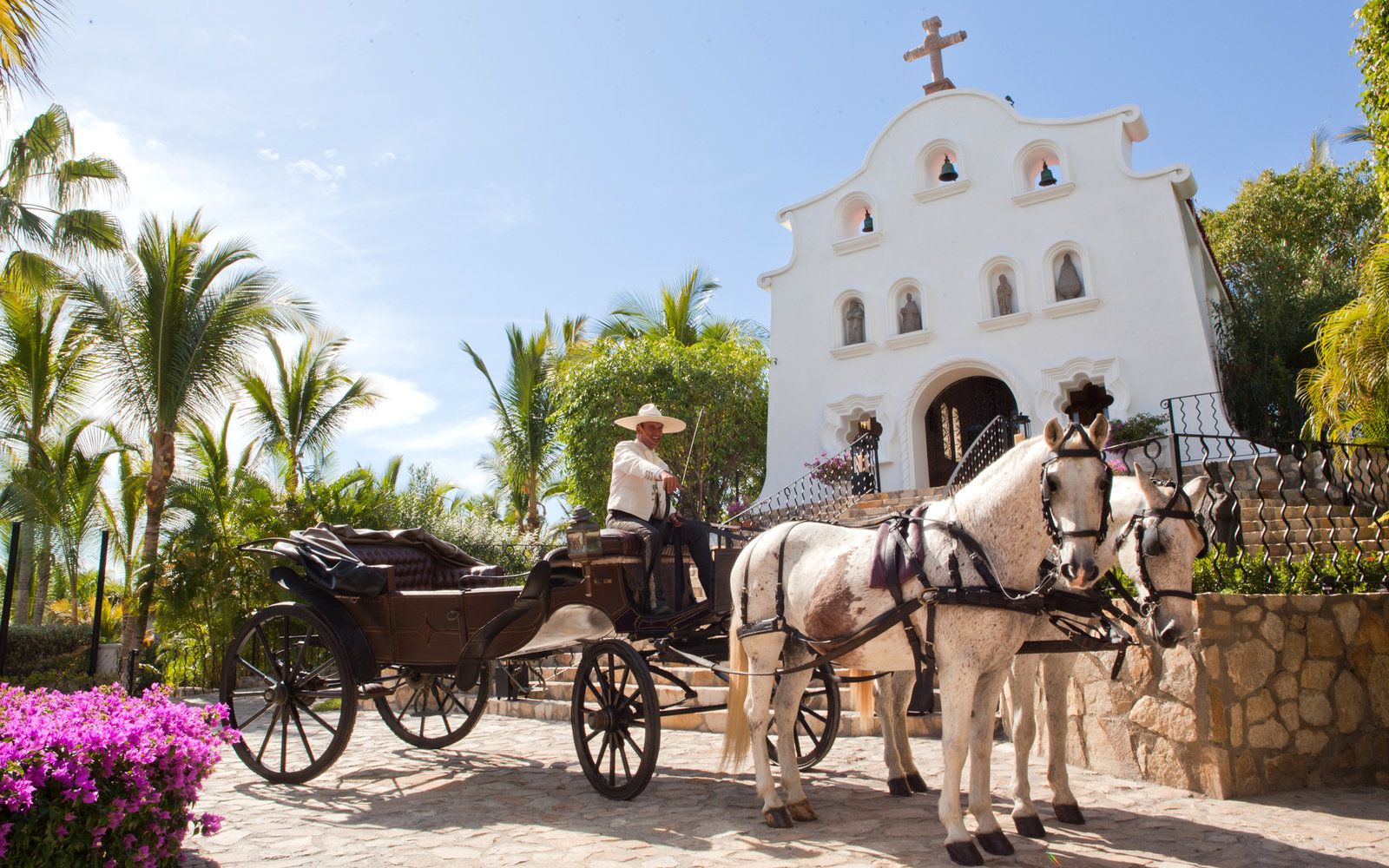 Beautiful hotel wedding chapels travel leisure oneonly palmilla wedding chapel junglespirit Images