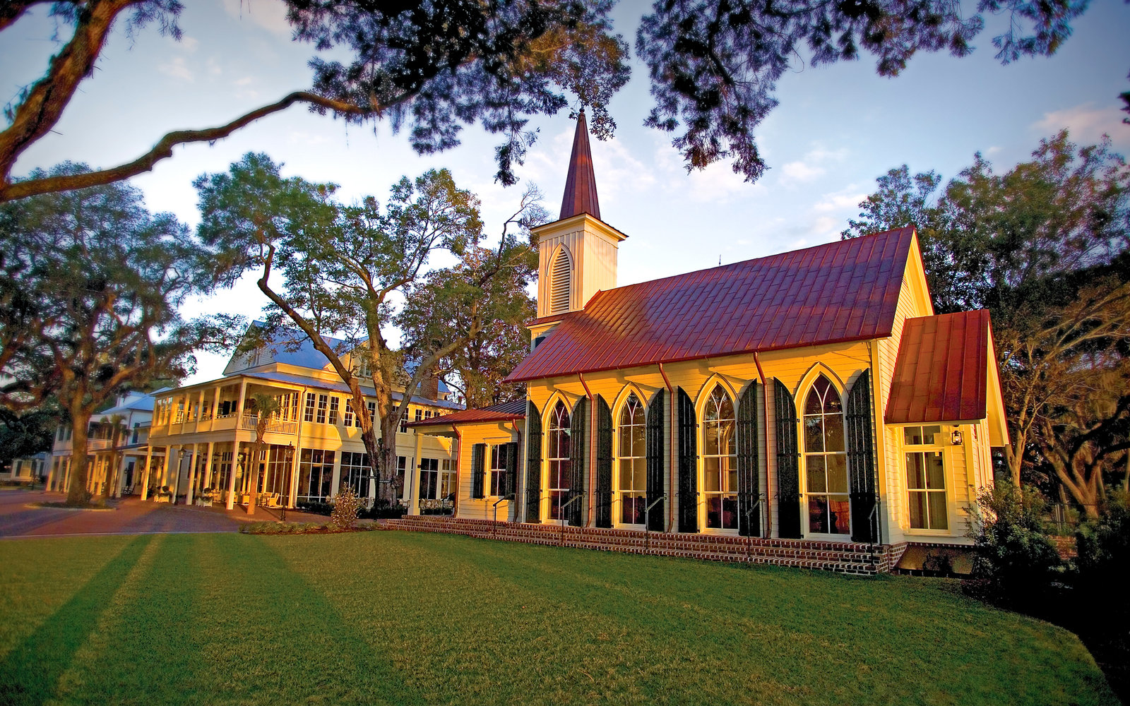 Palmetto Bluff Wedding Chapel