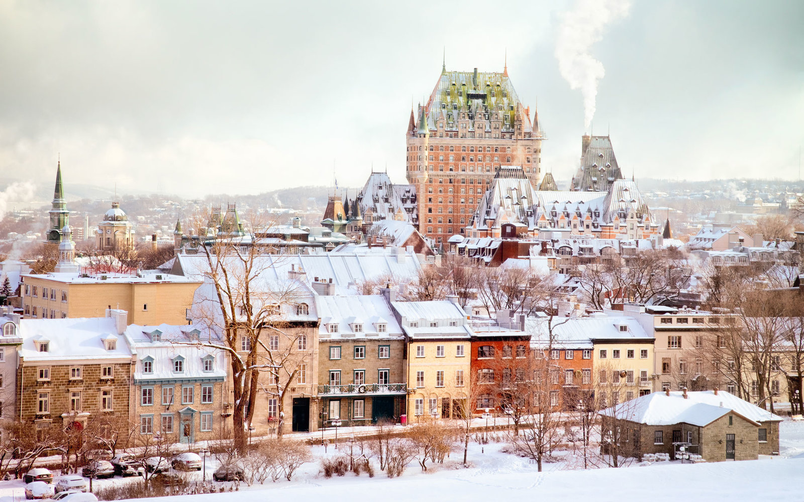 Best places to travel in december travel leisure for Quebec city places to visit