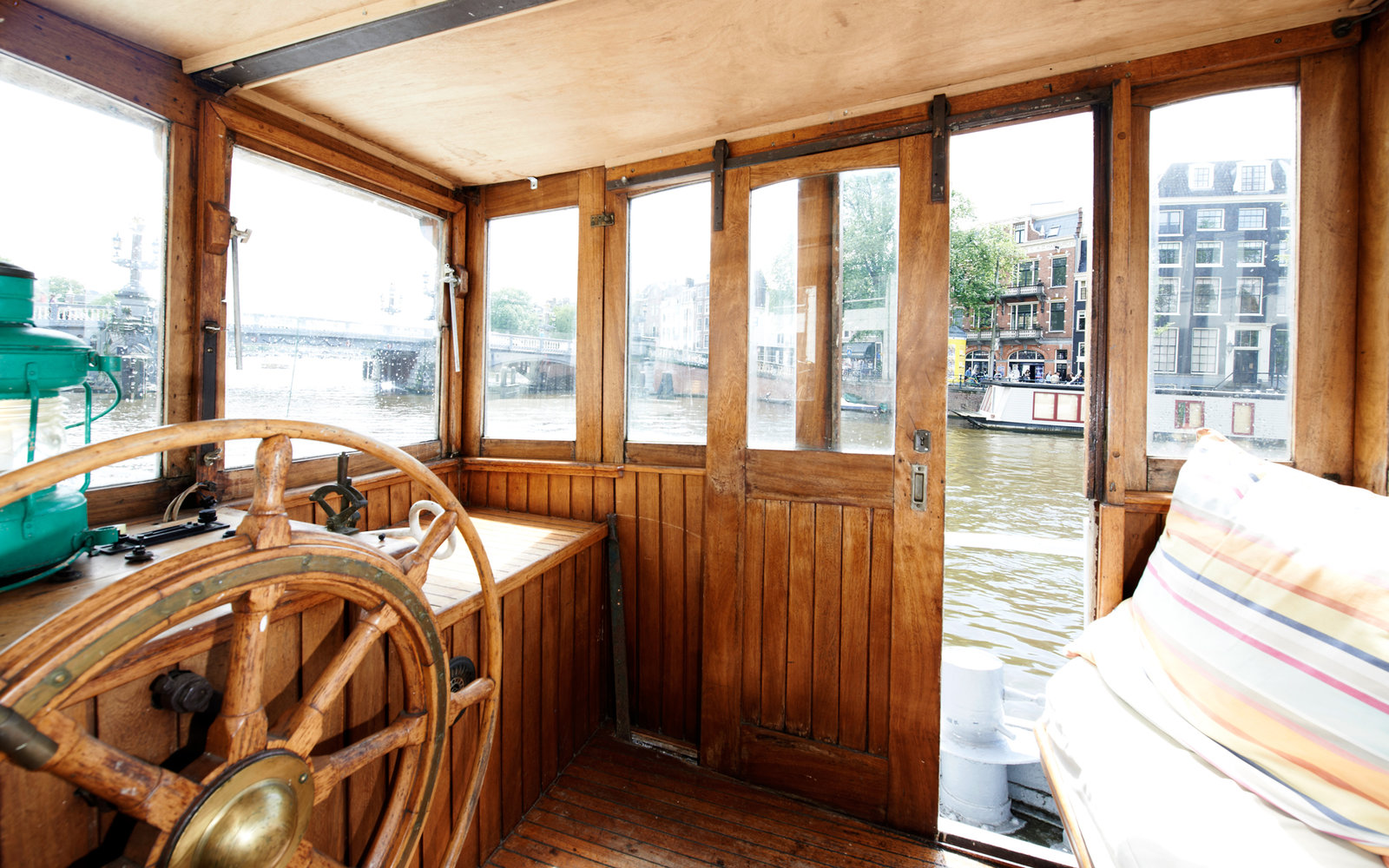 The most beautiful airbnb rentals in europe travel leisure for Airbnb amsterdam houseboat