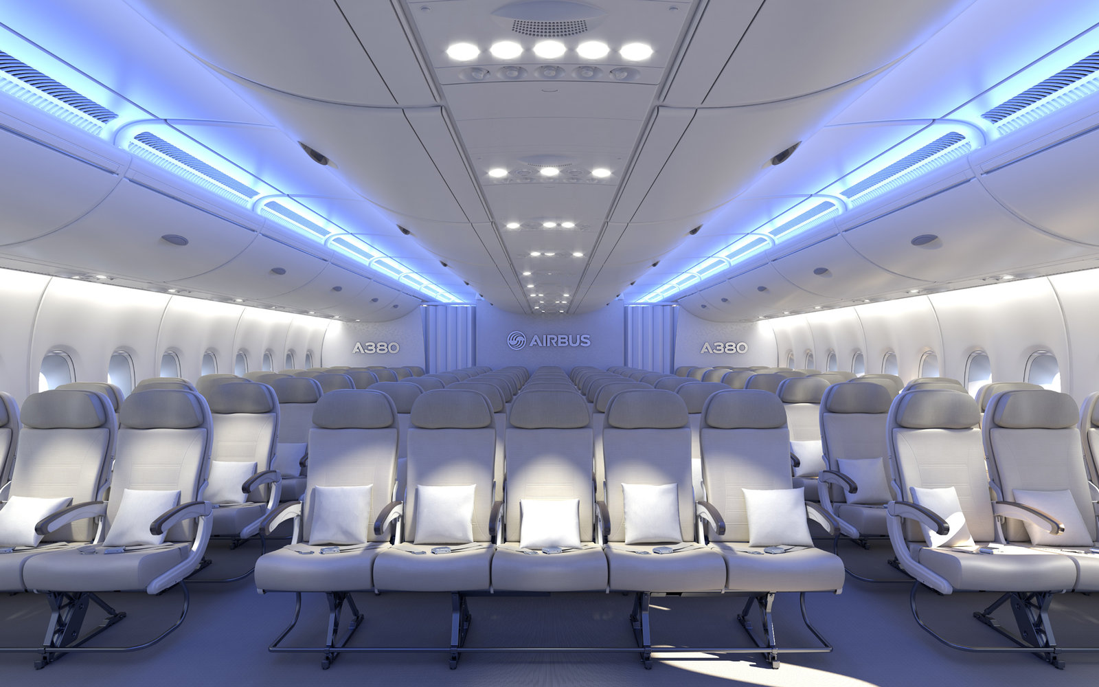 Airbus Design 3-5-3 Seating