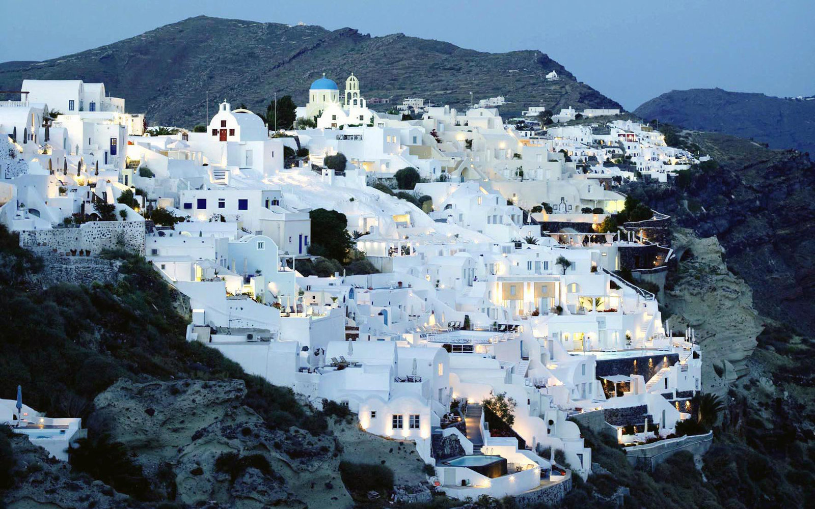 No. 5:Santorini, Greece