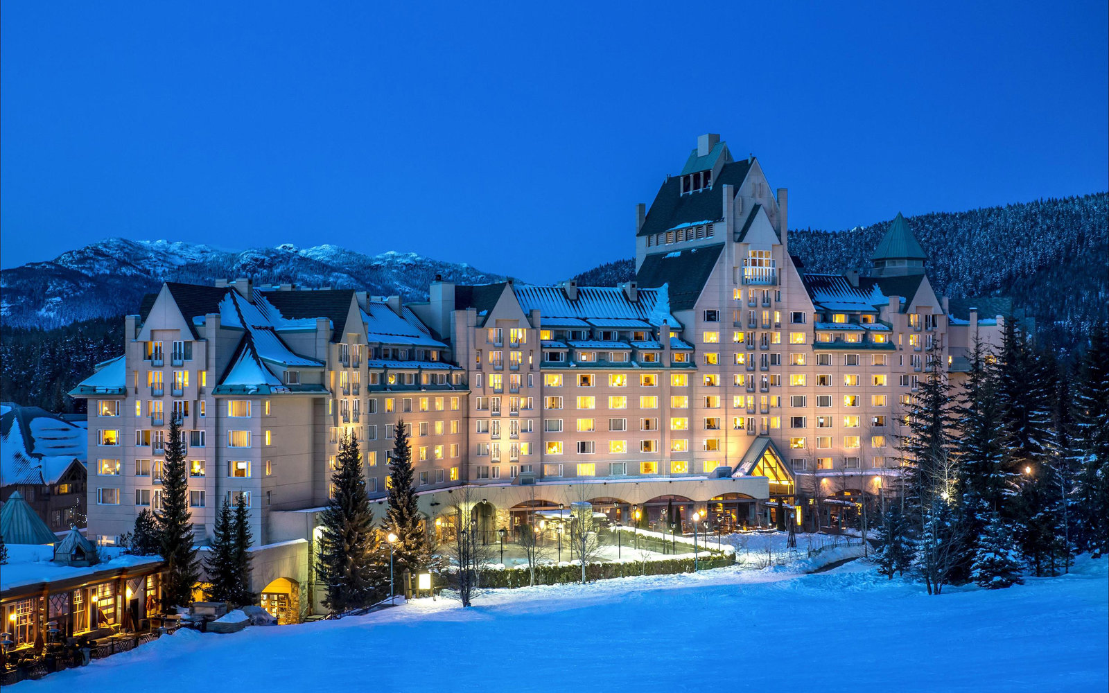 No. 7: Fairmont Chateau Whistler, British Columbia
