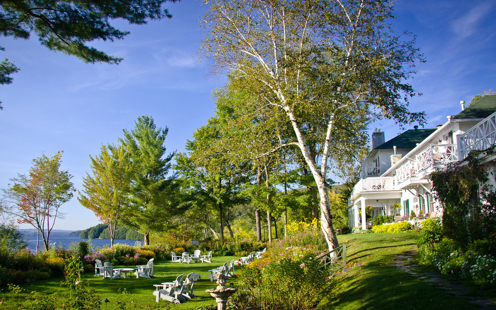 No. 1: Manoir Hovey, North Hatley, Quebec
