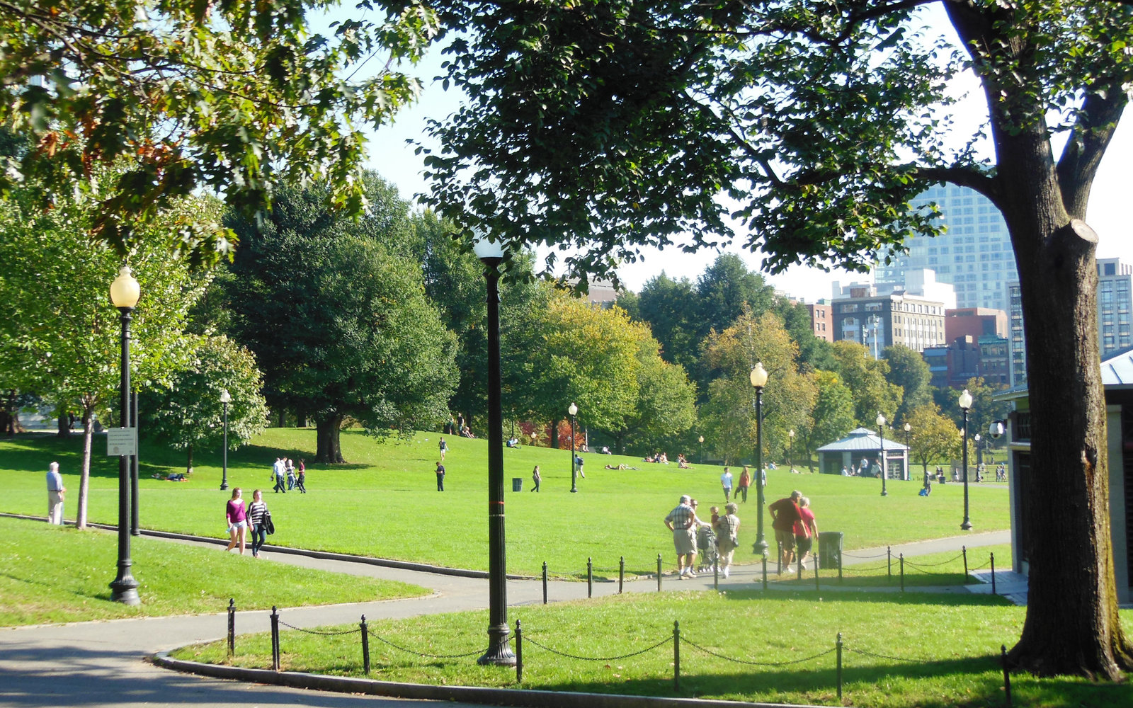 The Boston Common Park
