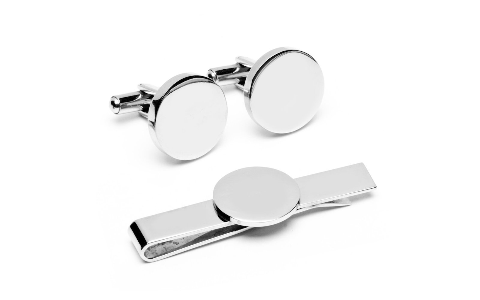 Cuff Link and Tie Clip