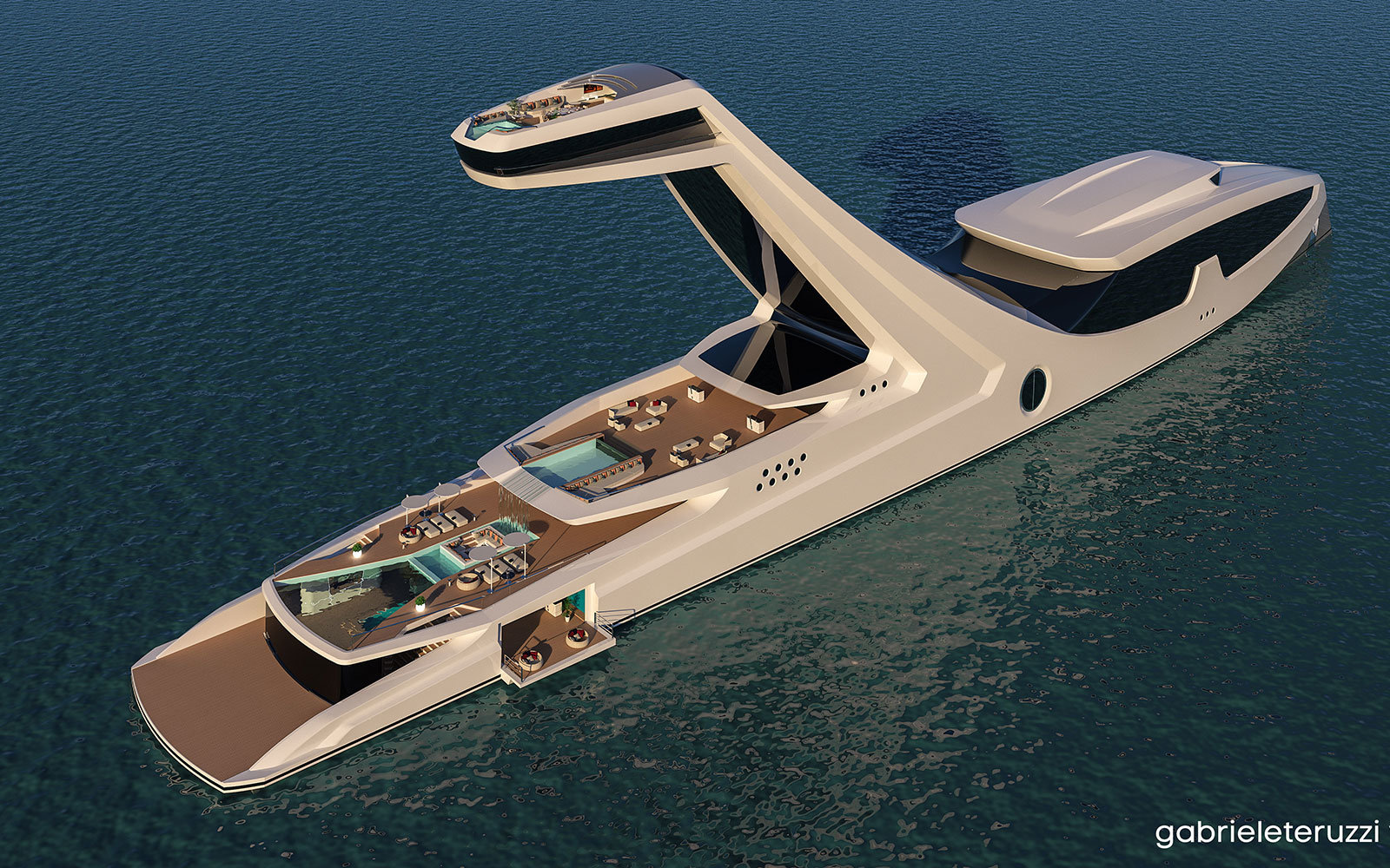 World's tallest yacht
