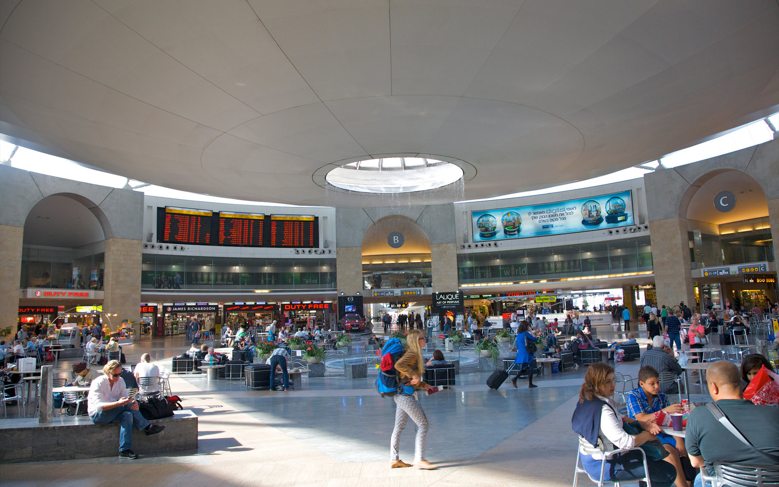 Ben Gurion International Airport Tel Aviv Israel
