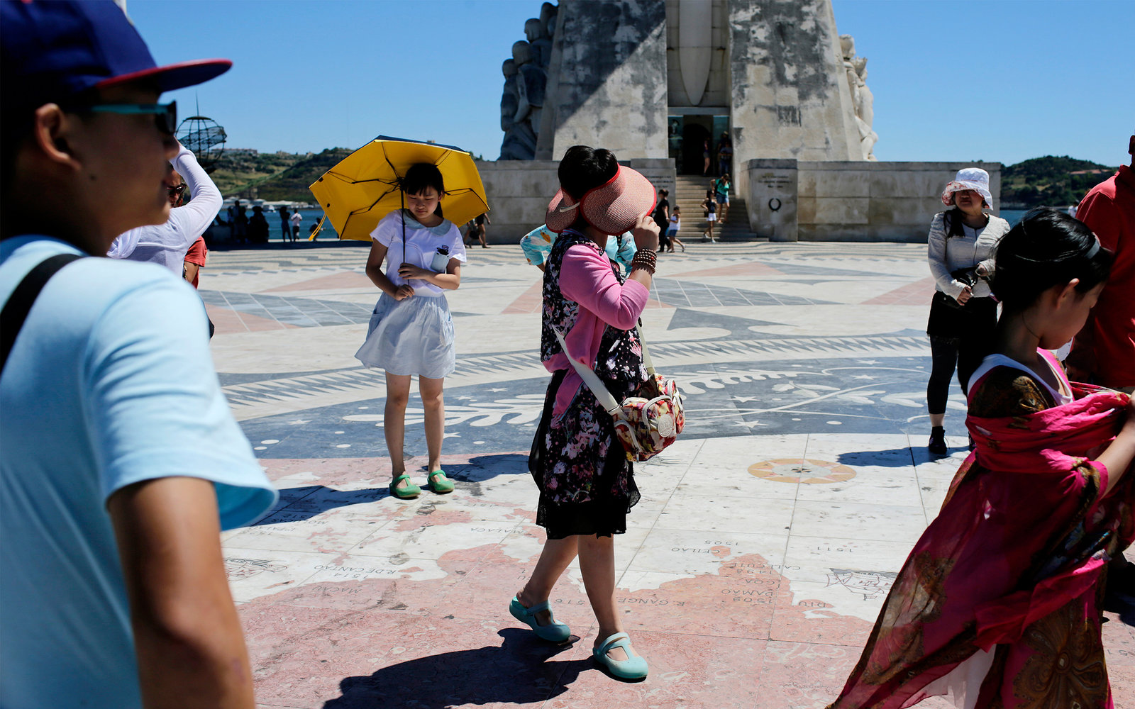 Chinese Tourists in Lisbon