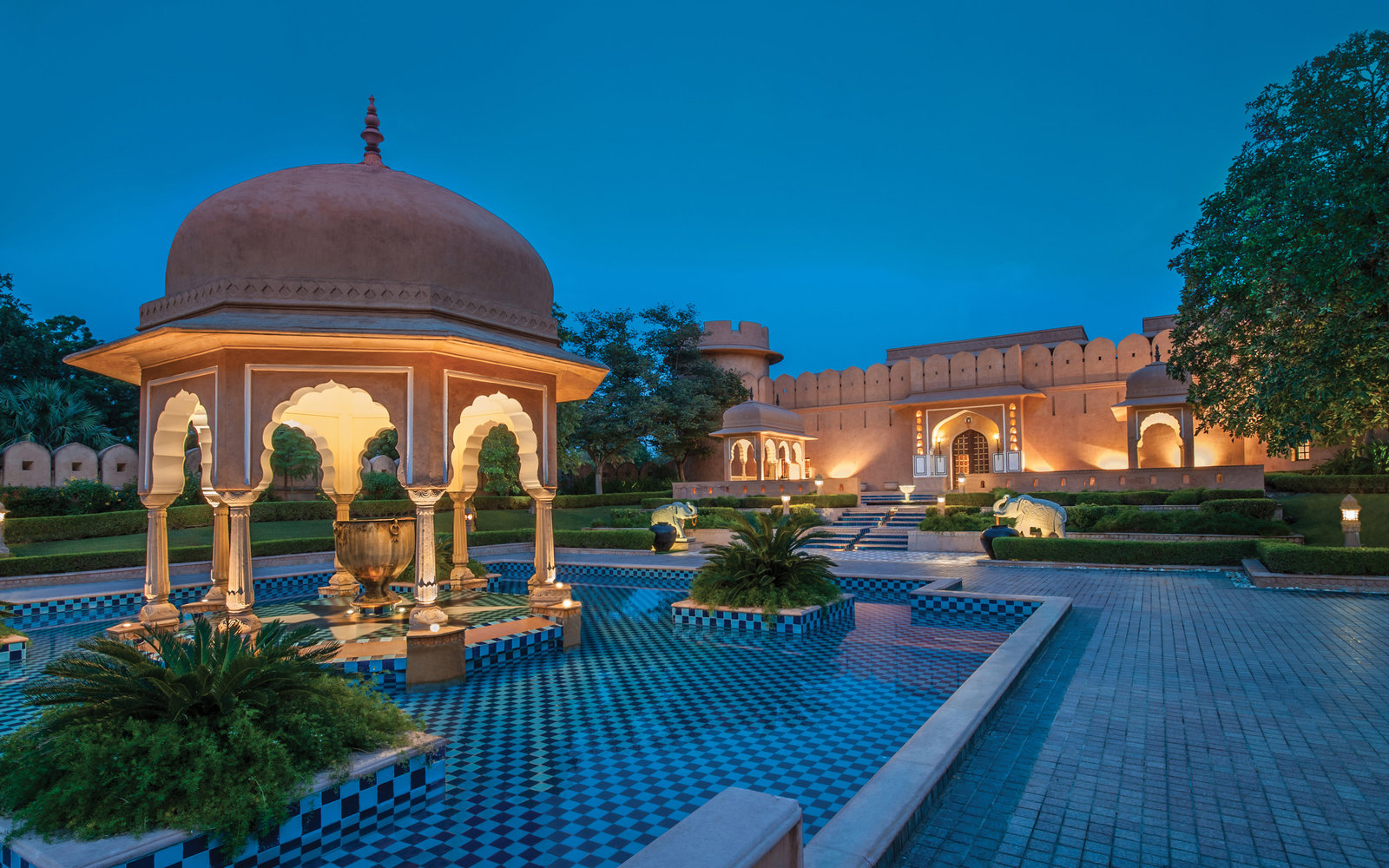 No. 7: The Oberoi Rajvilas, Jaipur, India