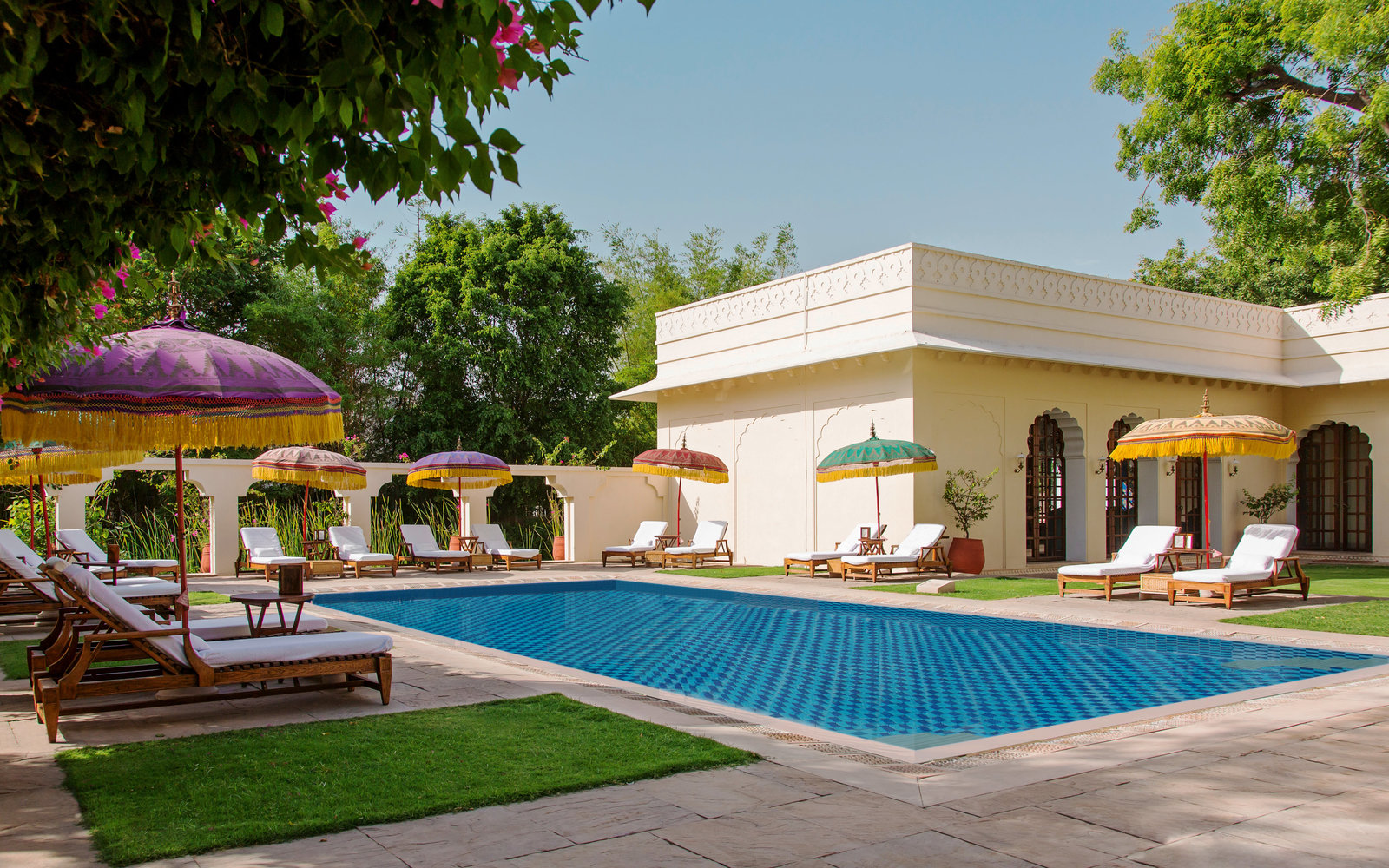 The Oberoi Vanyavilas Ranthambhore India