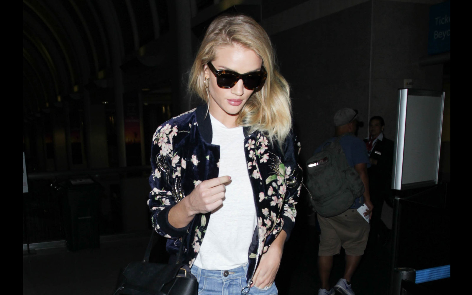 Rosie Huntington-Whiteley Expensive Jacket