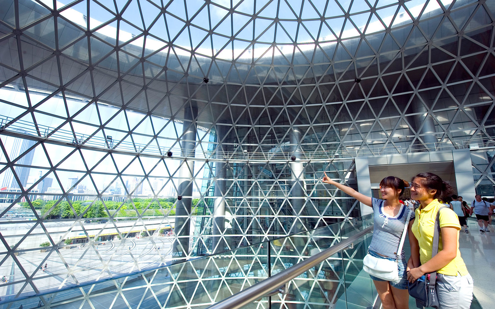 Shanghai's Science and Technology Museum