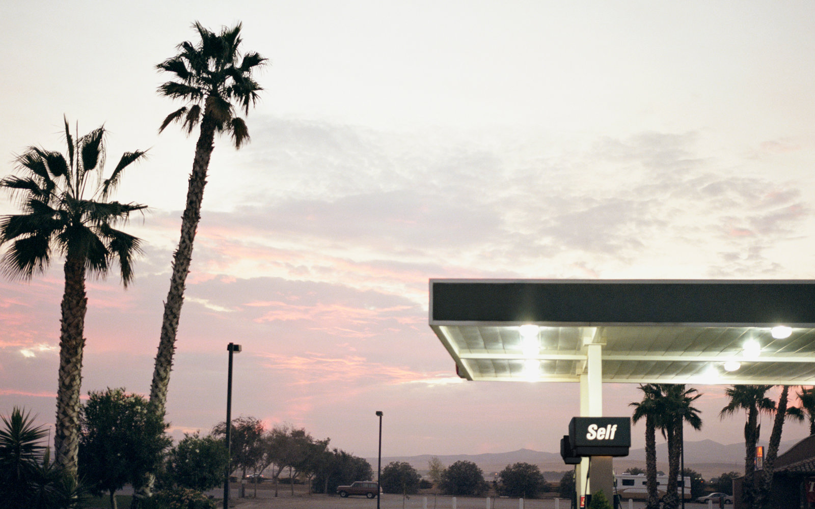 California Gas Station