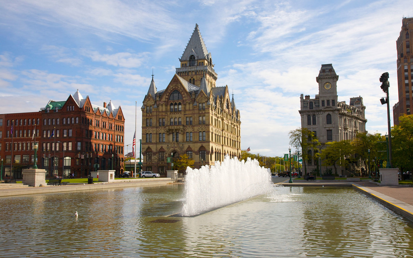 Clinton Square, Syracuse, Onondaga County, Central New York, New York, USA.