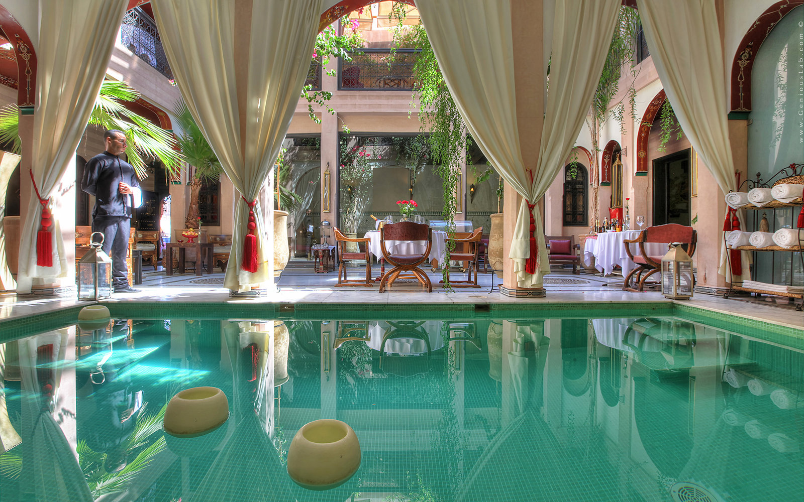 The 56 best places to honeymoon right now travel leisure for Best riads in marrakesh