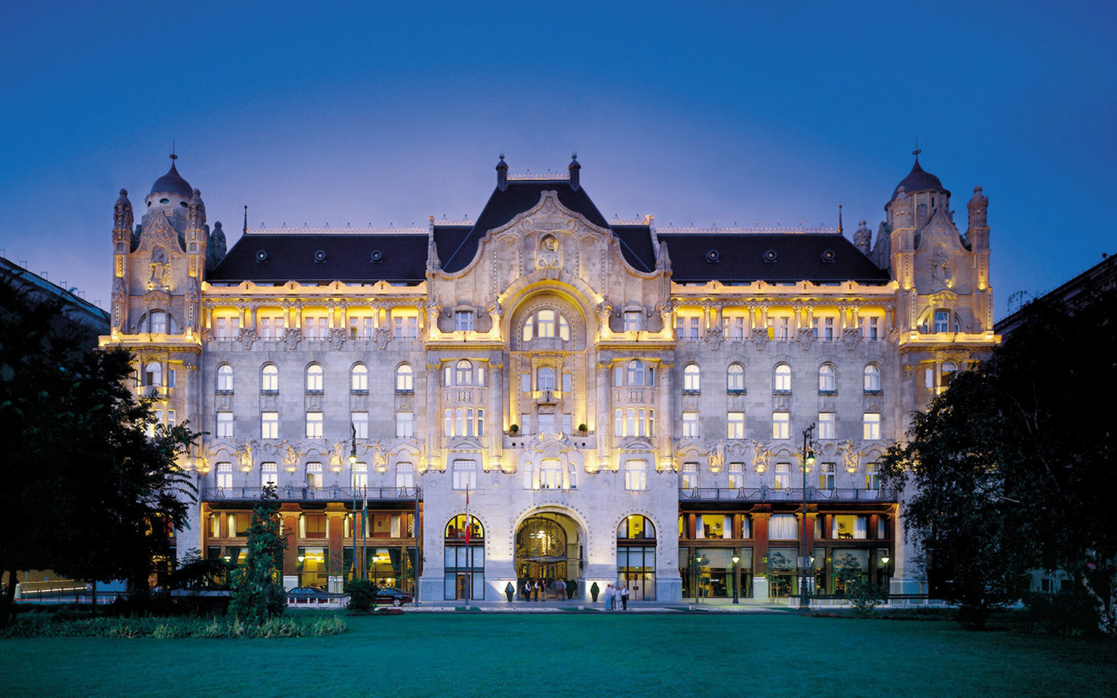 No. 13: Four Seasons Hotel Gresham Palace Budapest, Hungary