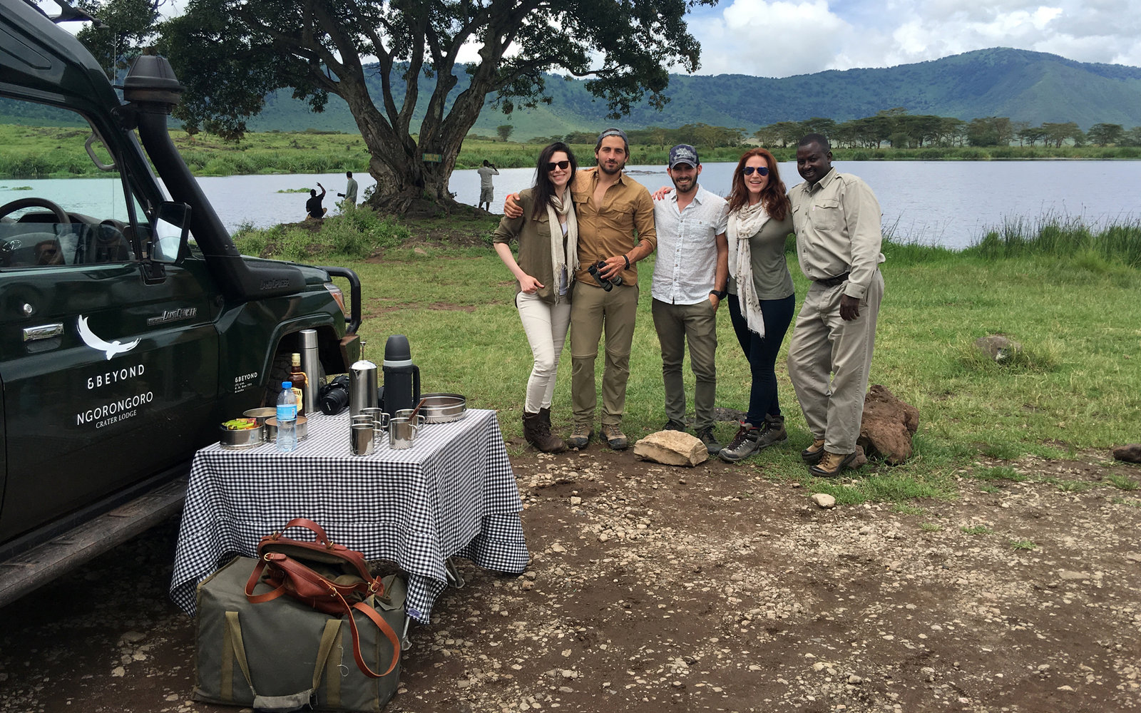 Laura Prepon Travels Tanzania