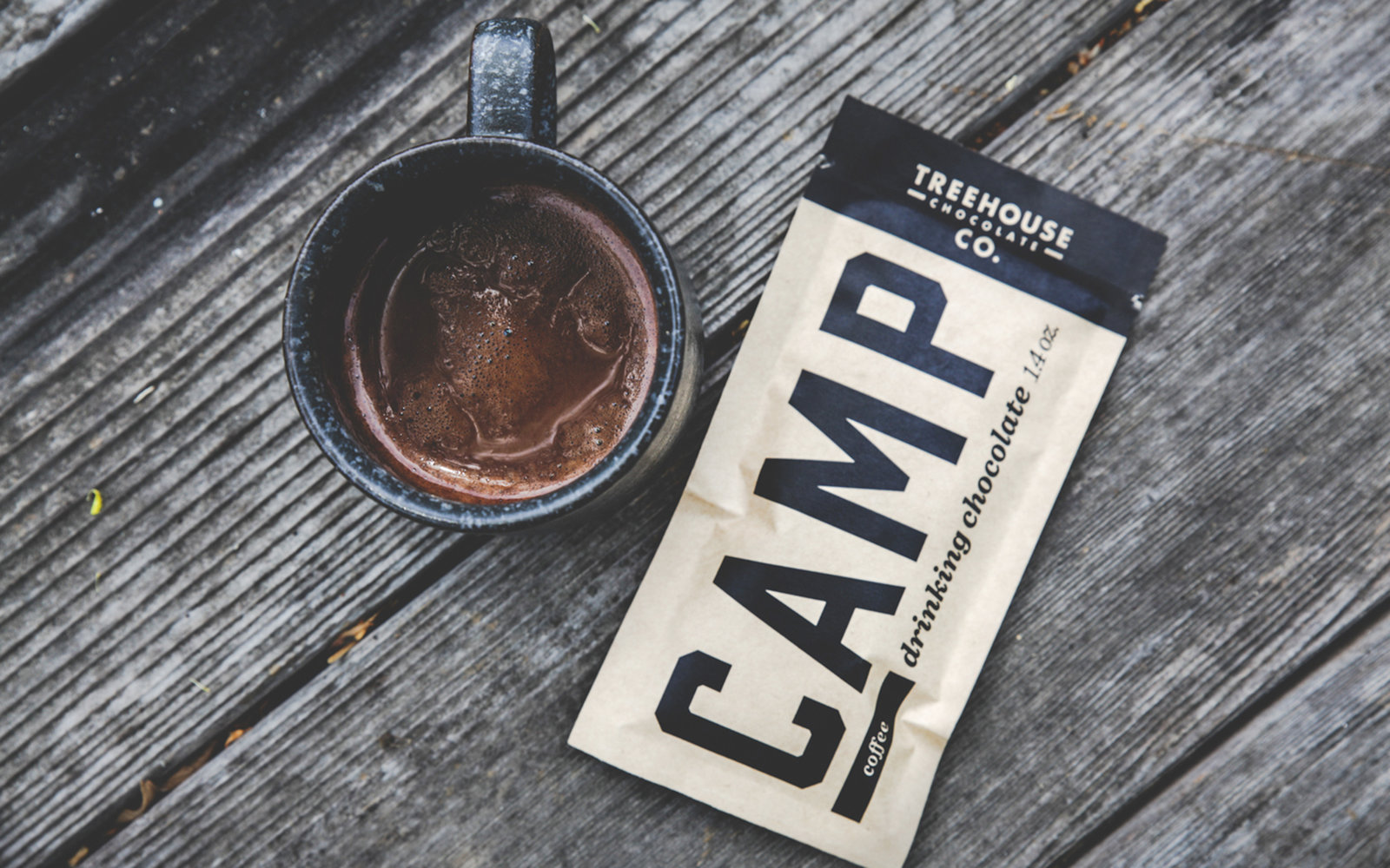 Treehouse Drinking Chocolate Camping Gear