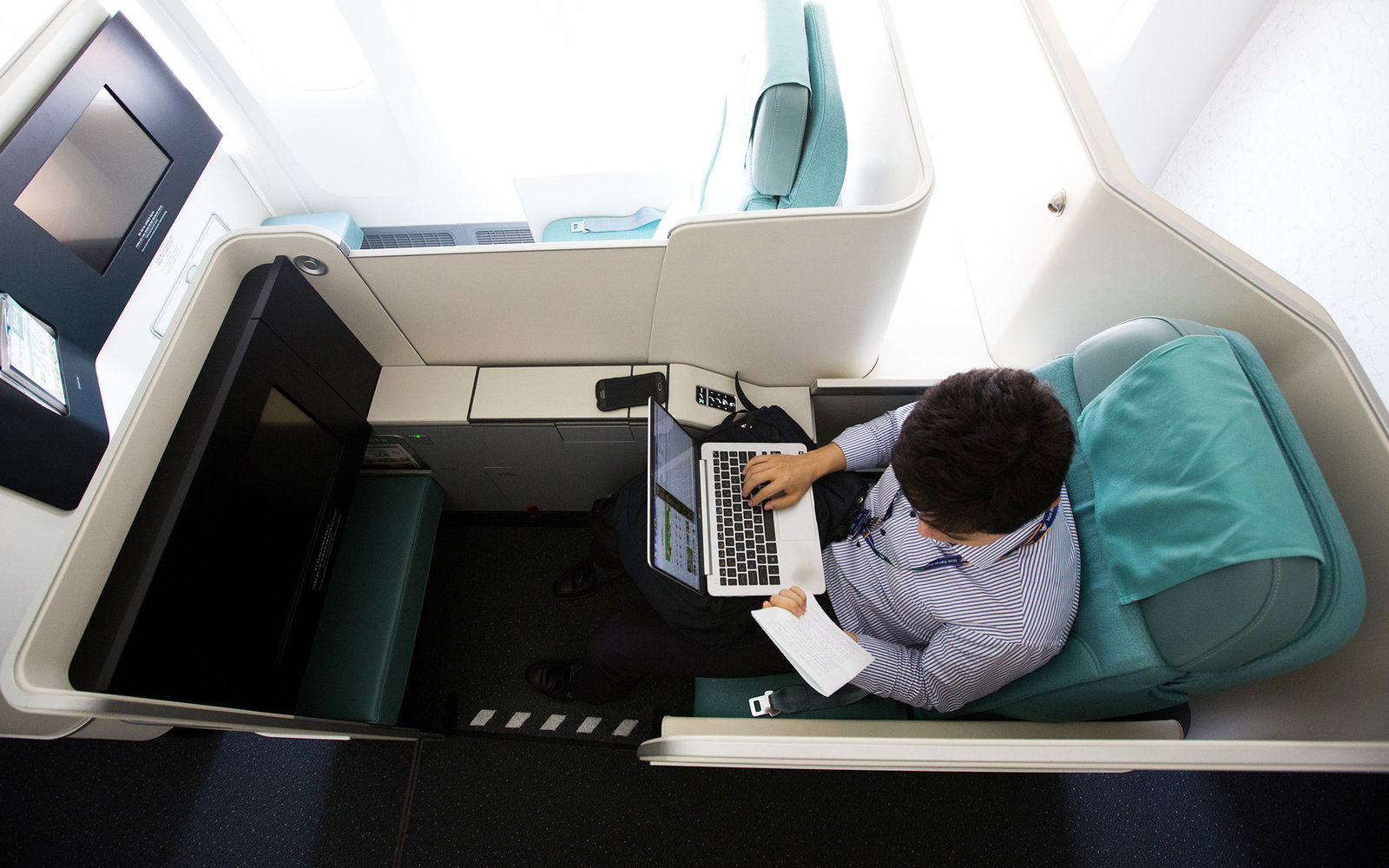 Business Traveler on Korean Airlines