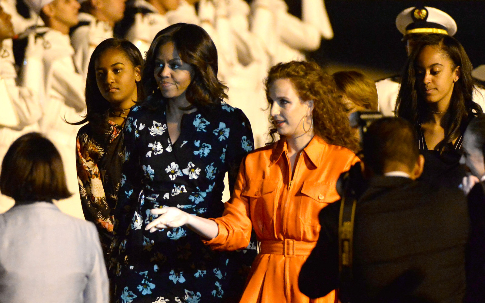 Obama Women in Morocco