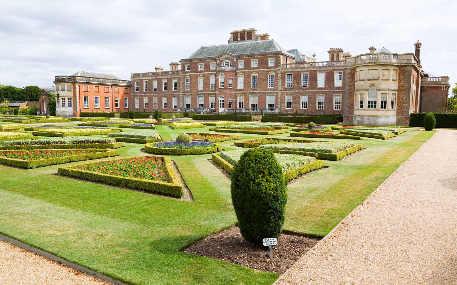 Wimpole Hall Stately Home in Cambridgeshire, England