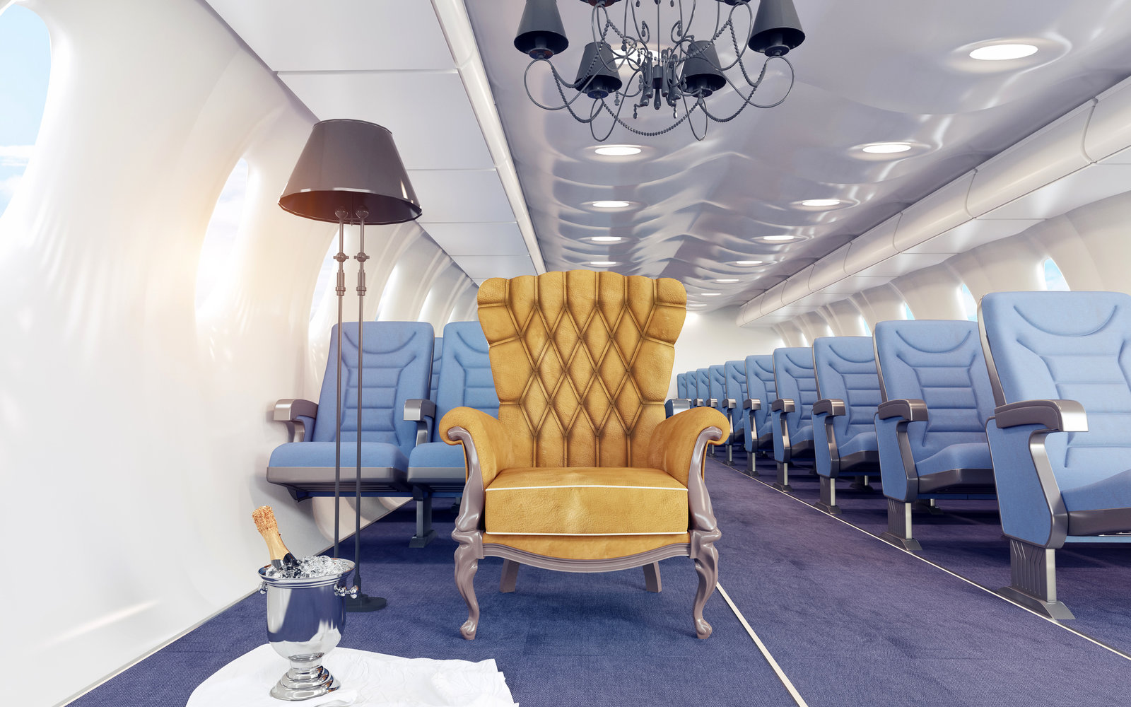 Luxury Commercial Planes