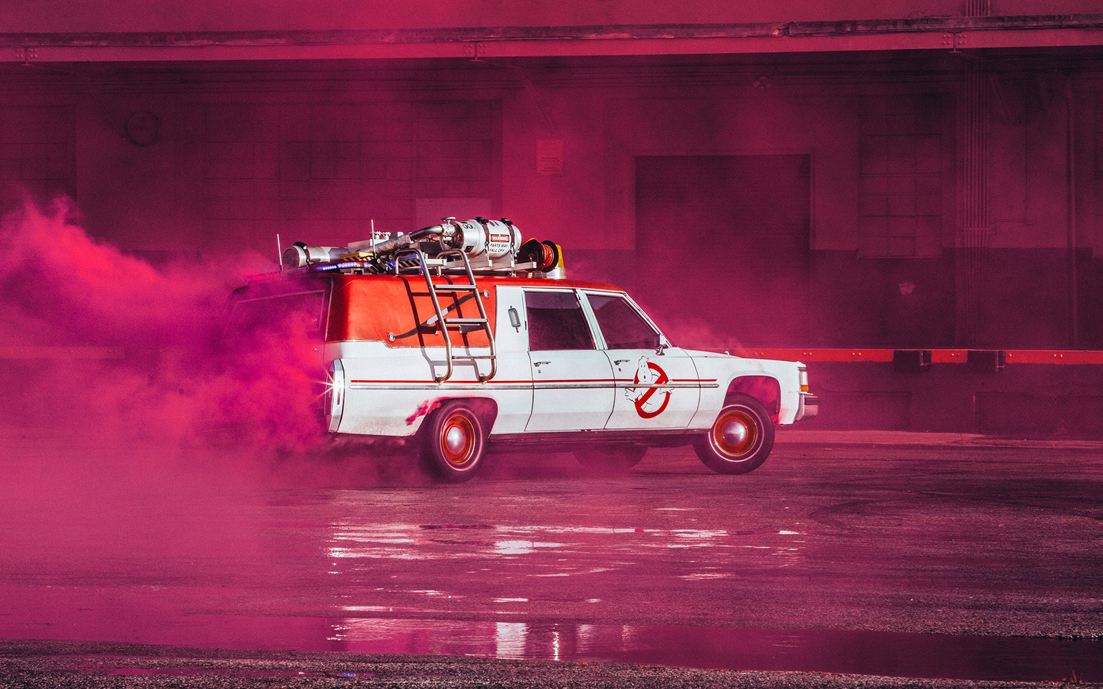 Lyft and Ghostbusters Team Up