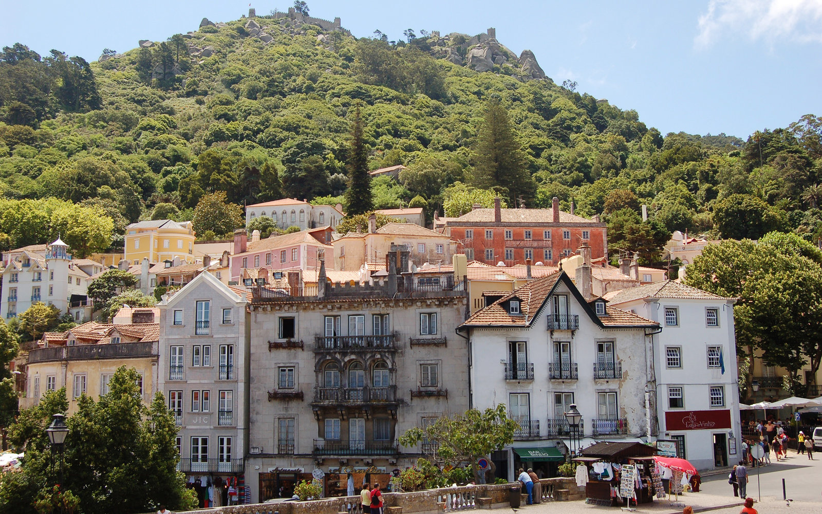 Sintra Town in Portugal