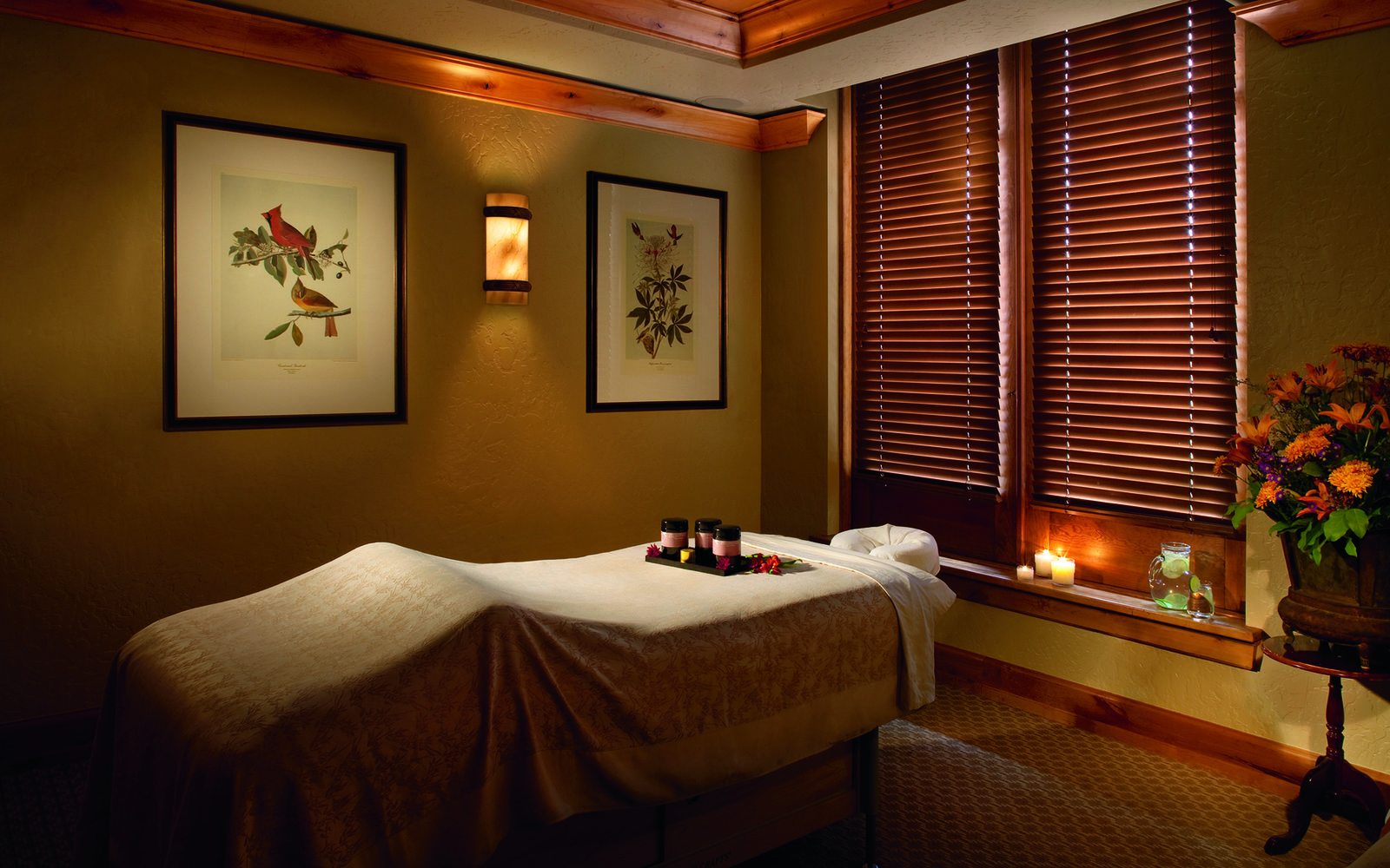 Bourbon Vanilla Scrub at The Bachelor Gulch Spa