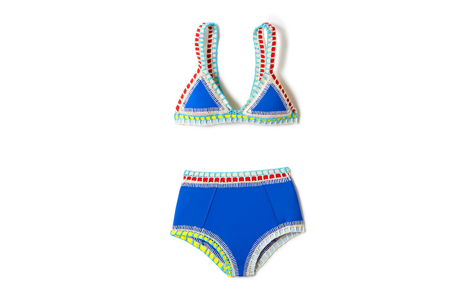 Kiini High Waist Bathing Suit
