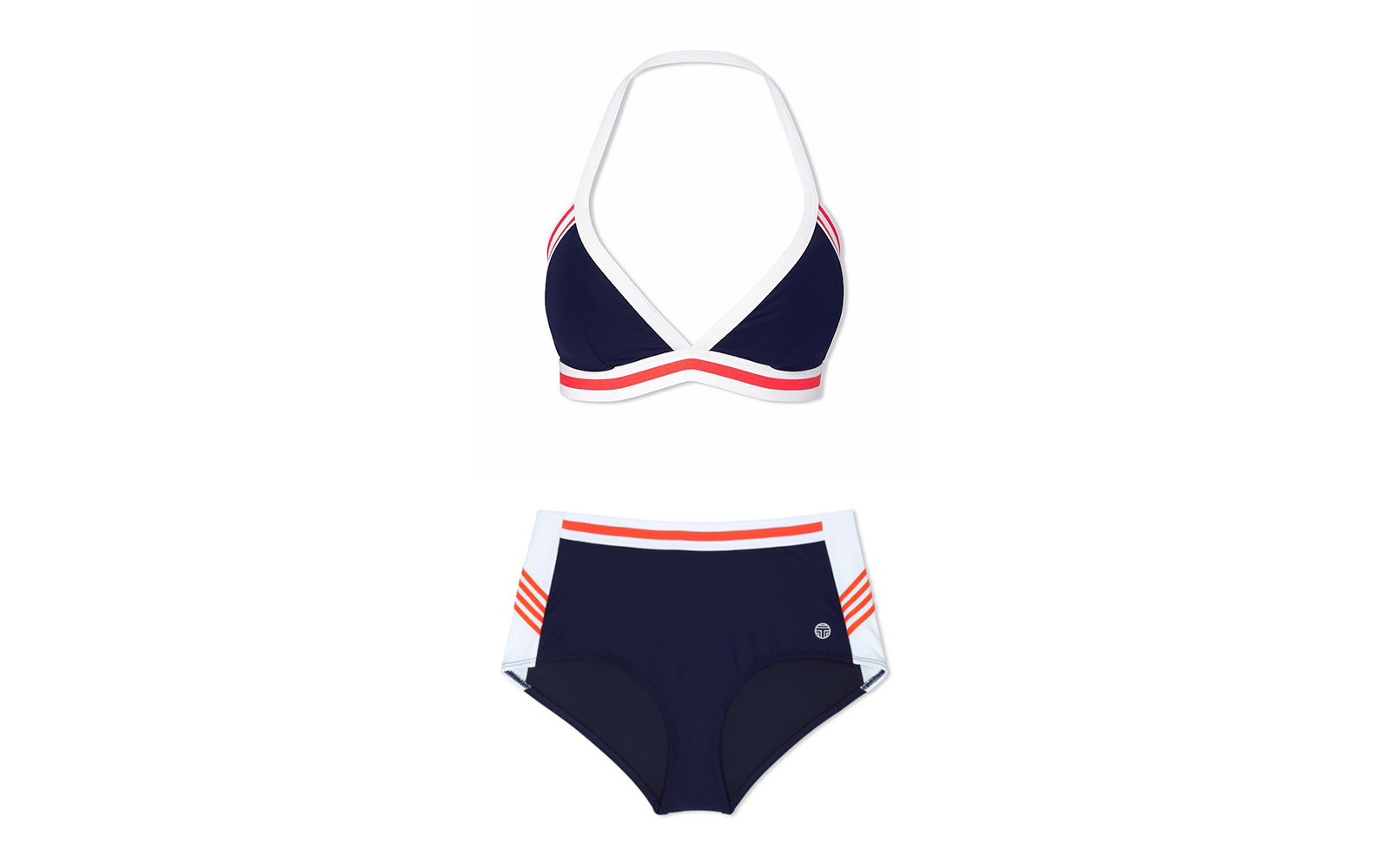 Tory Sport High Wait Bathing Suit
