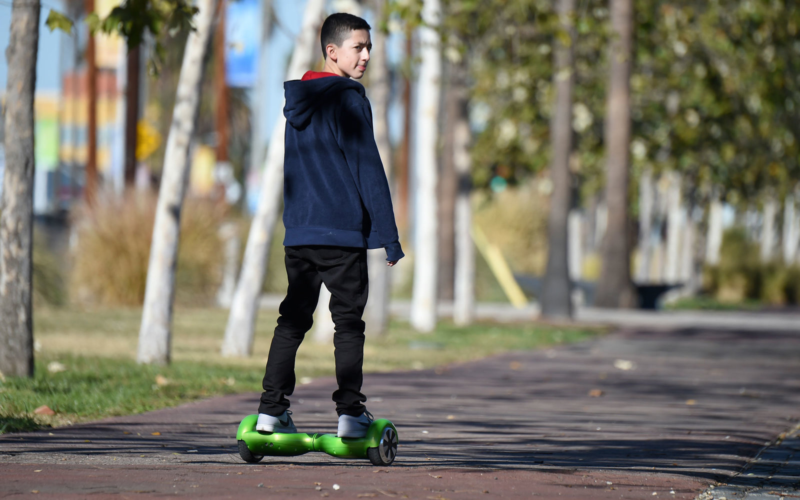 Hoverboards Are Banned