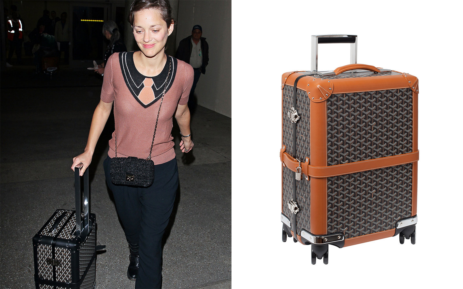Celebrities Favorite Luggage Brands Travel Leisure
