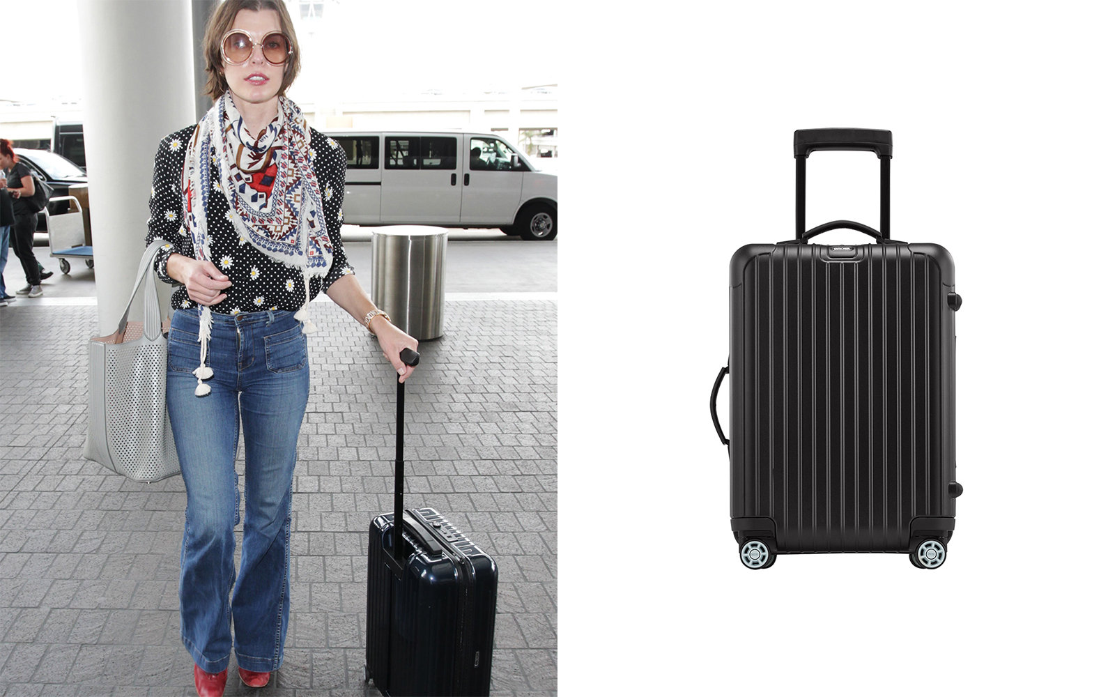 Rimowa Milla Jovovich Celebrity Luggage