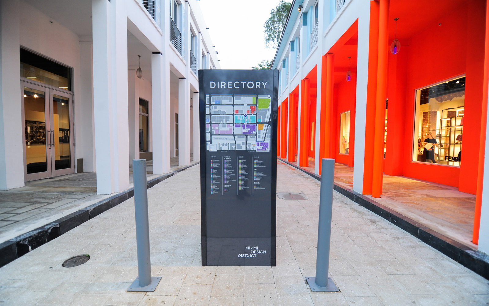 Miami Design District Concrete Alley