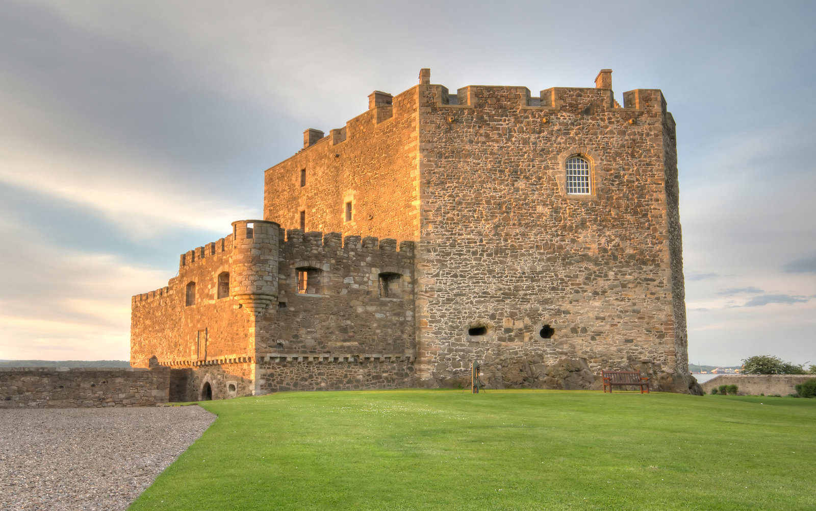 Blackness Castle Firth of Forth Scotland