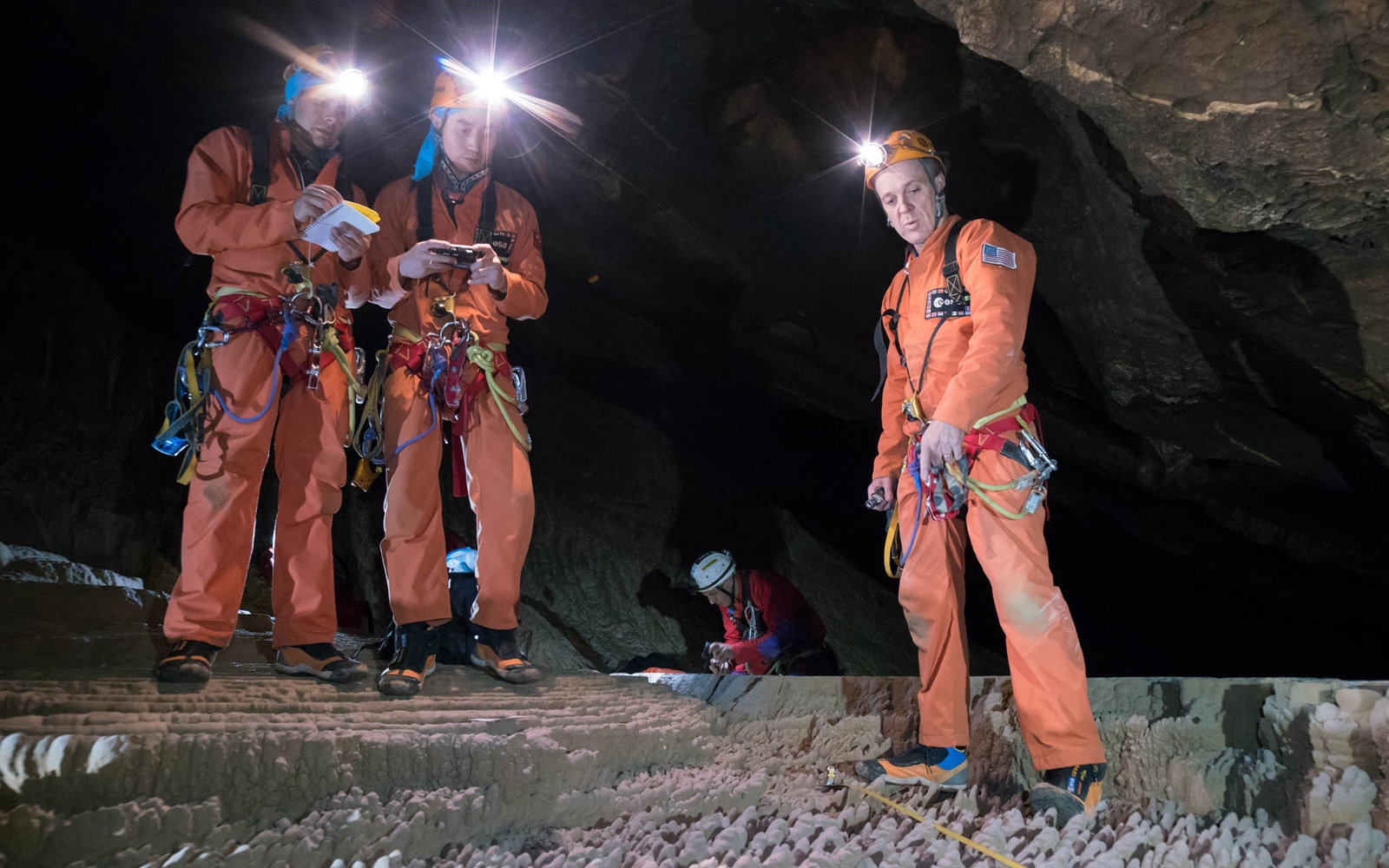 Cave Training Astronauts