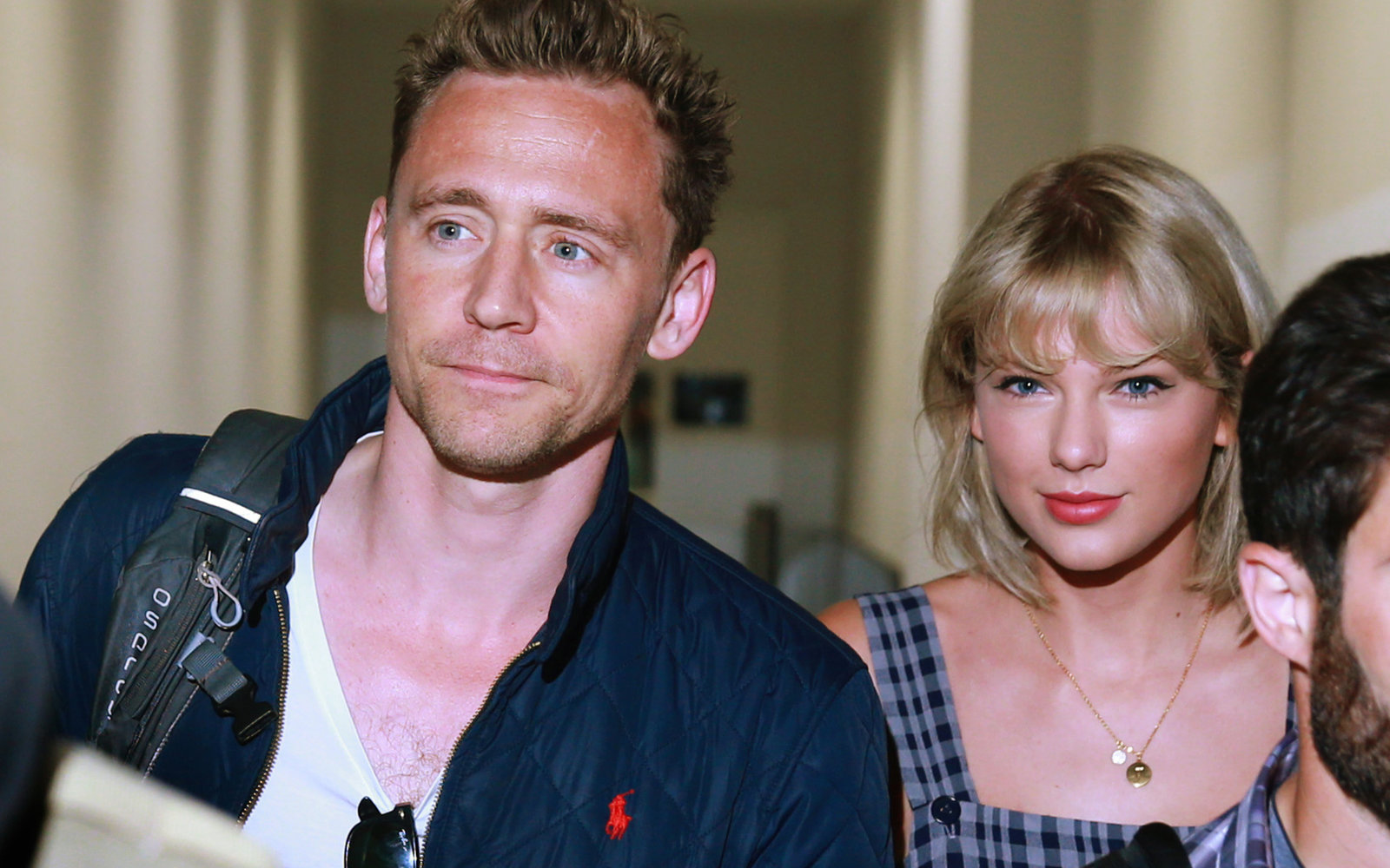 Tom Hiddleston and Taylor Swift in Australia