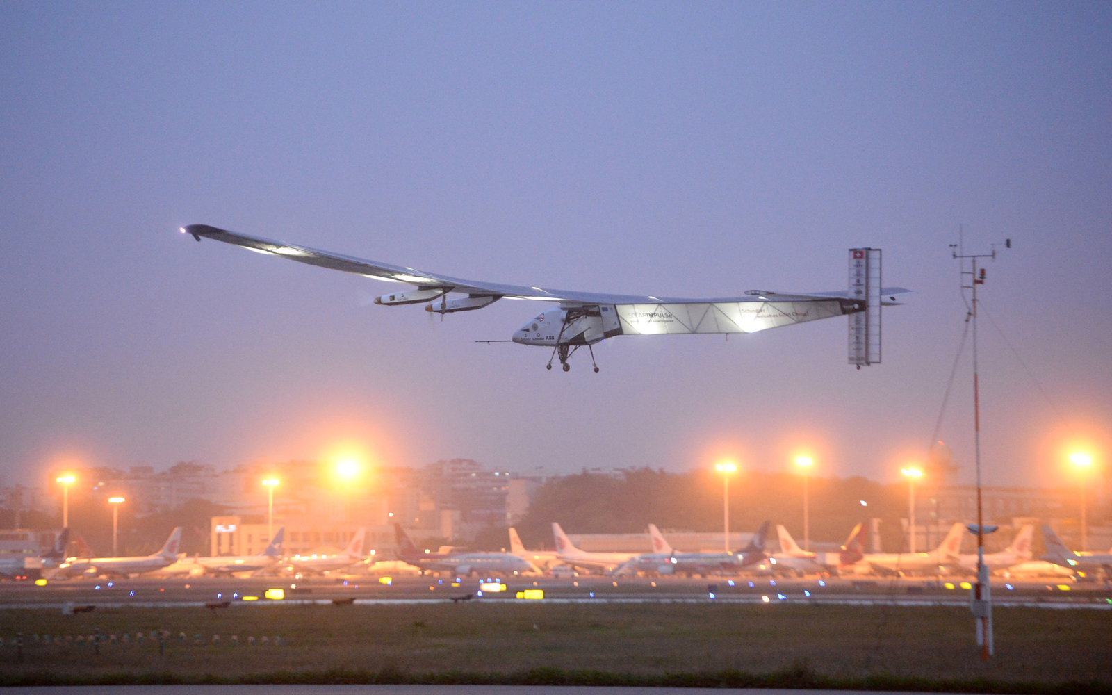 Solar Impulse in China