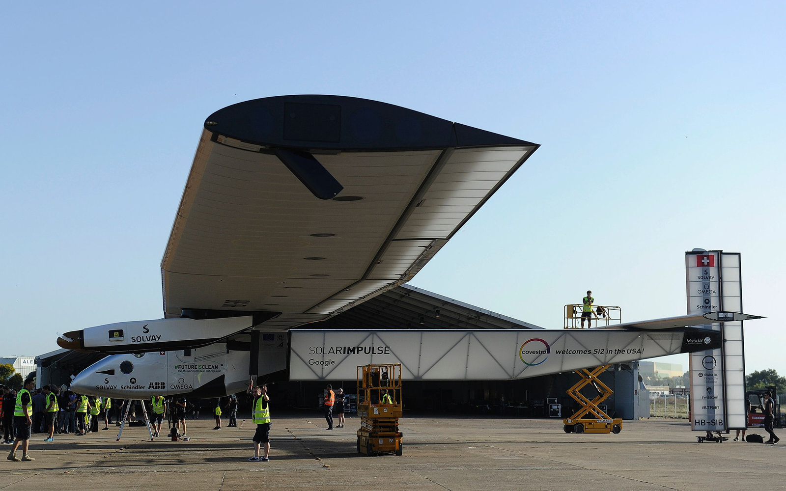 Solar Impulse in Spain