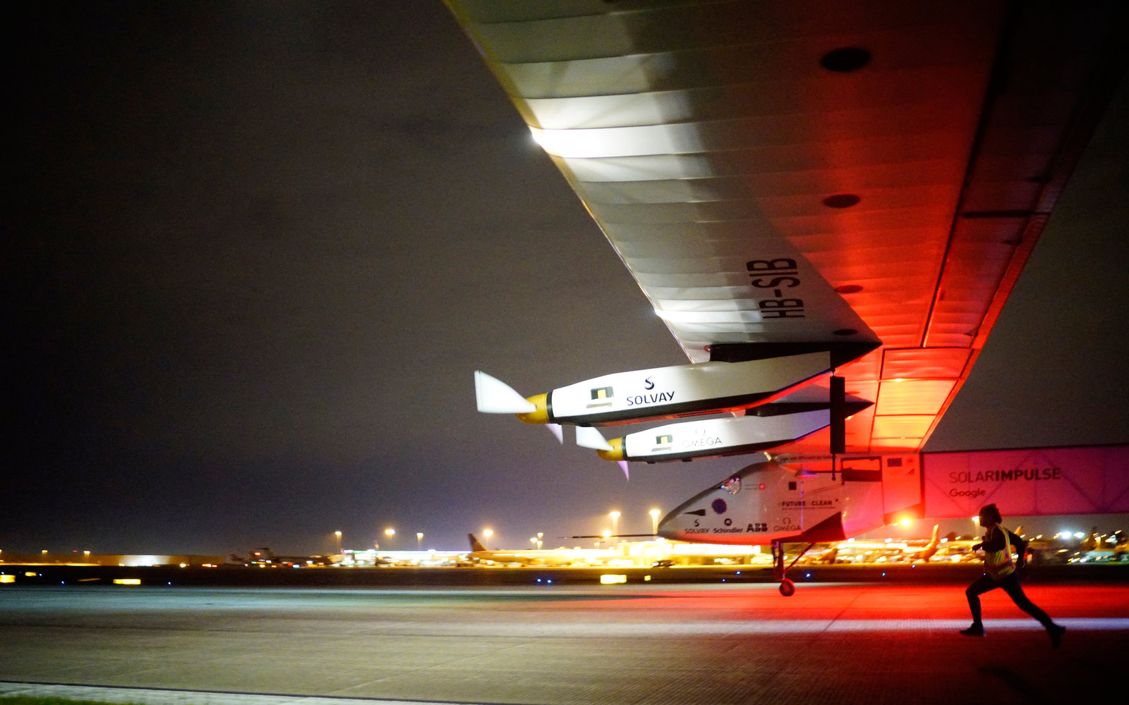Solar Impulse in Oklahoma