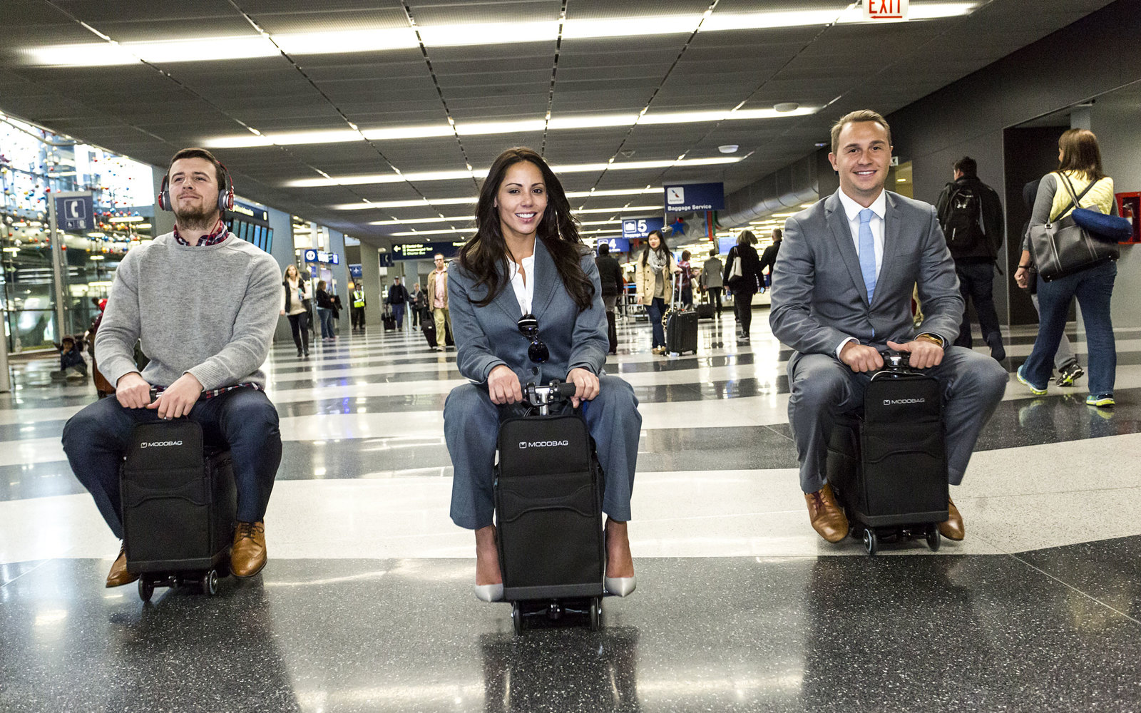You can ride this suitcase around the airport | Travel   Leisure