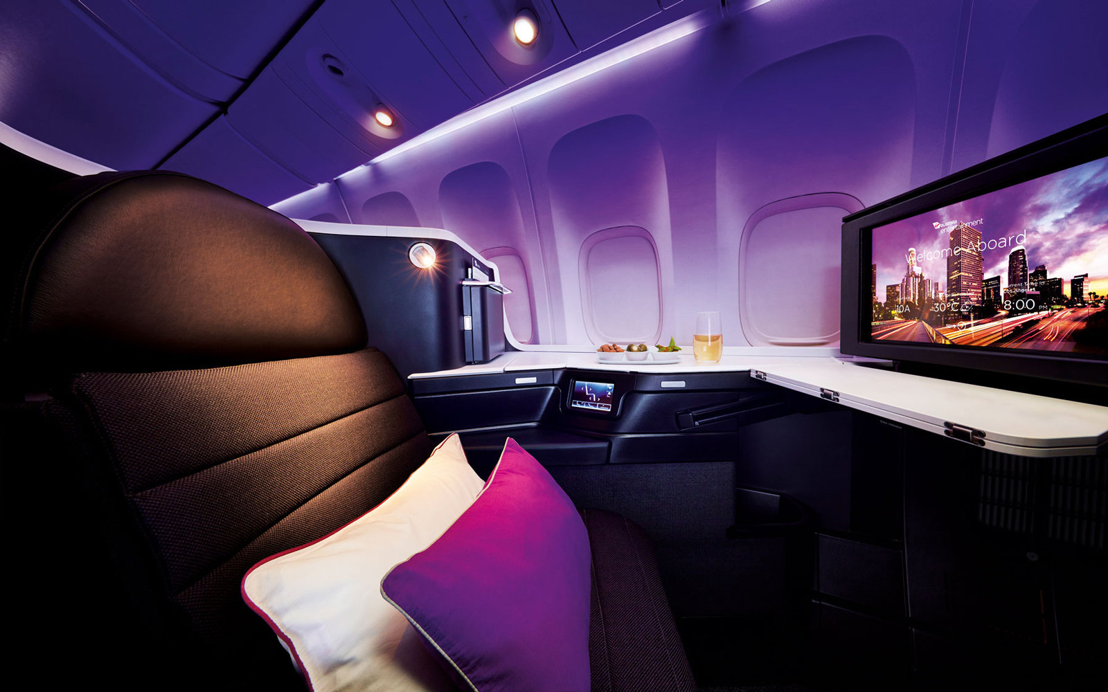 Virgin Australia Redesign Interior