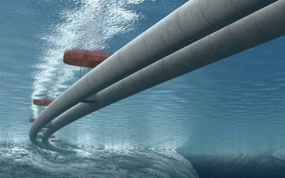 Norway Underwater Traffic Tunnels