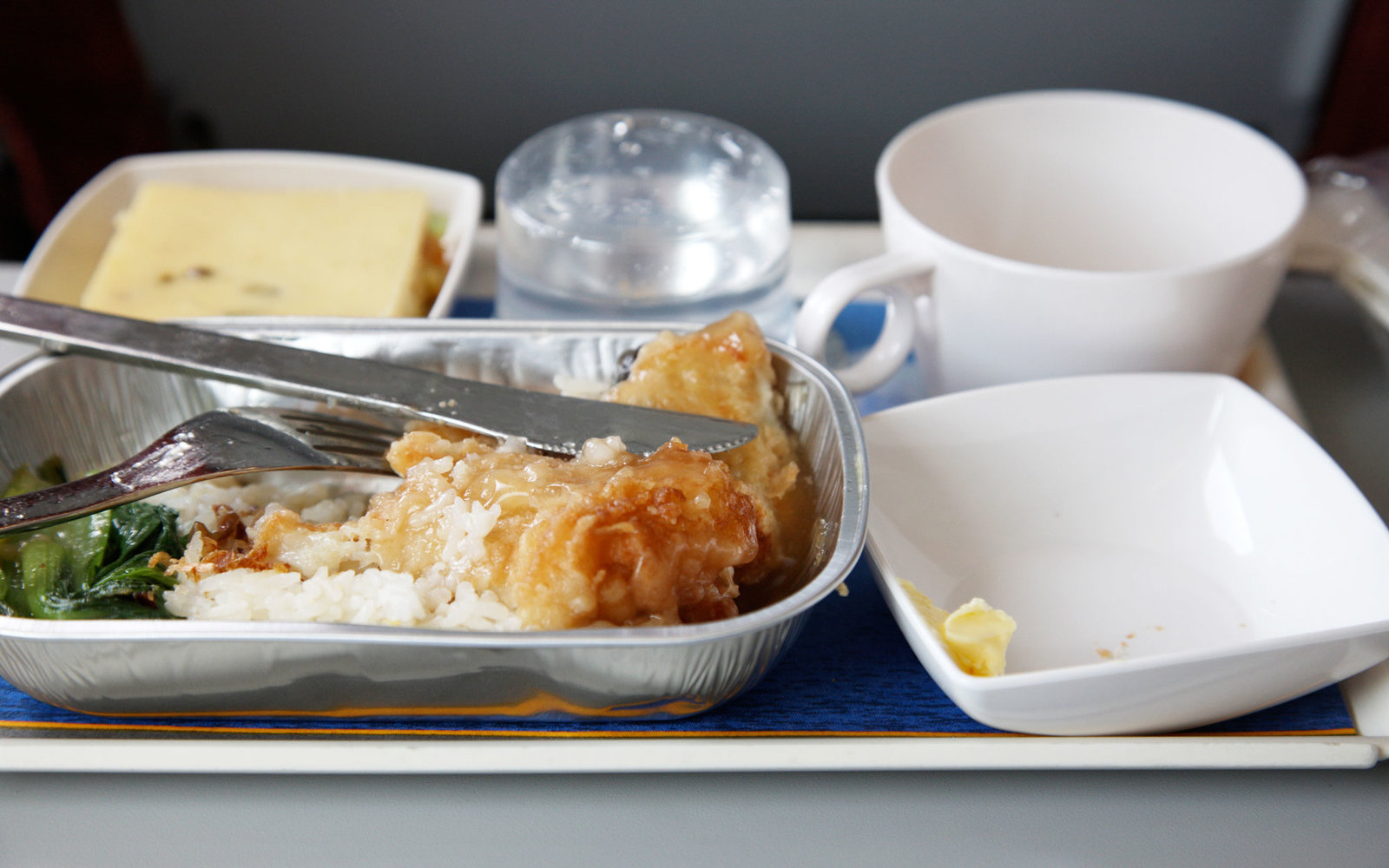 A Brilliant New Use For Leftover Airplane Food