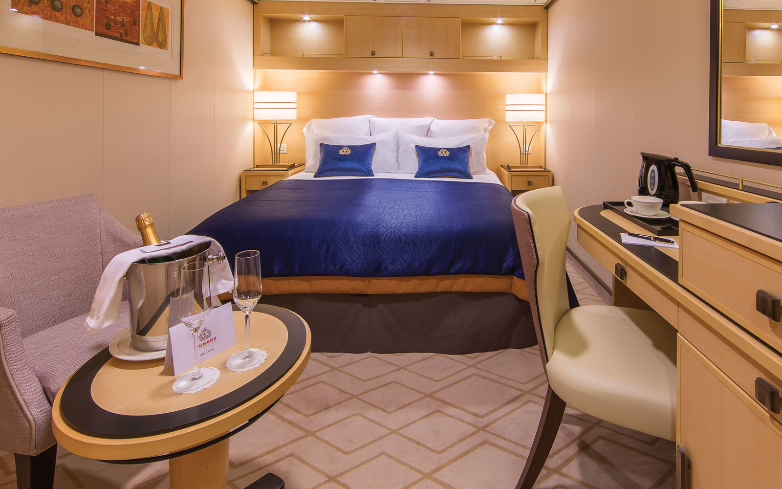 inside the new queen mary 2 travel leisure