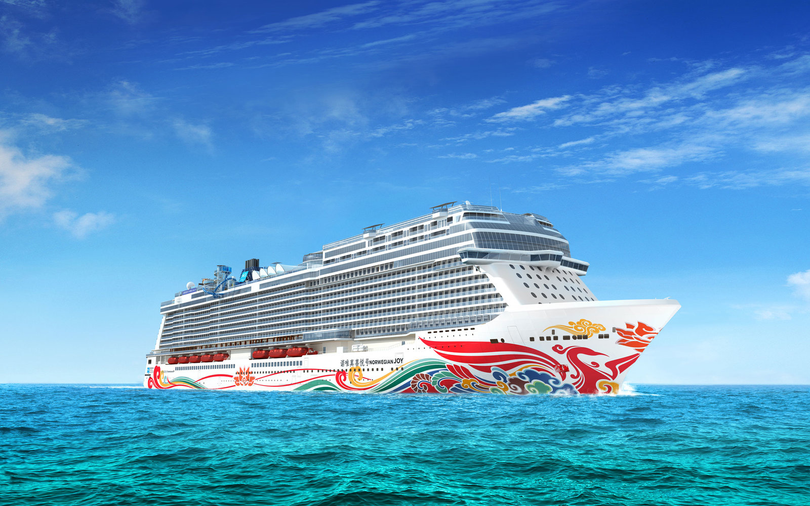 Chinese artist designing cruise ship